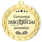 """Medalis """"Geriausiai Dukterėčiai pasaulyje"""