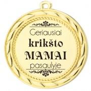 """Medalis """"Krikšto mamai"""""""