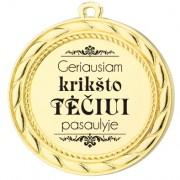"""Medalis """"Krikšto tėčiui"""""""