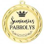 """Medalis """"Šauniausias pabrolys"""""""