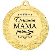 """Medalis """"Geriausia MAMA pasaulyje"""""""