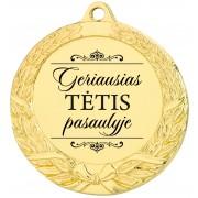 """Medalis """"Geriausias TĖTIS pasaulyje"""""""