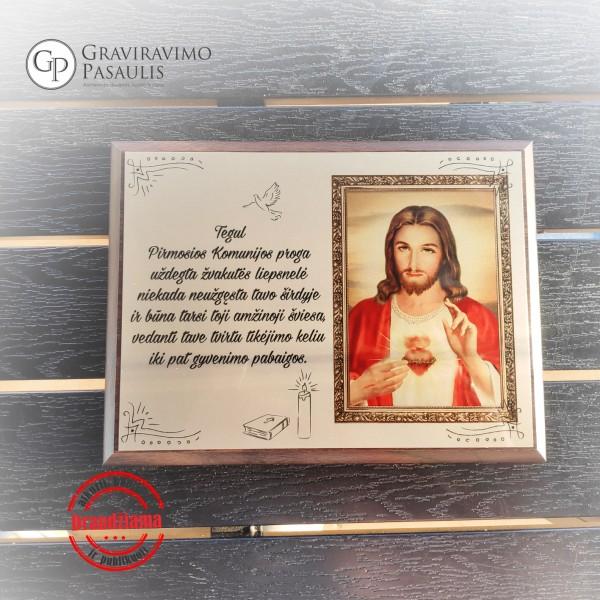 """Sveikinimas pirmosios komunijos proga """"Jėzus"""""""