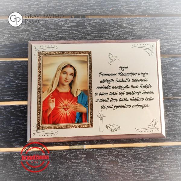 """Sveikinimas pirmosios komunijos proga """"Marija"""""""