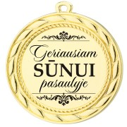 """Medalis """"Geriausiam  Sūnui pasaulyje"""""""